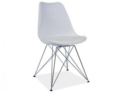 Bílá židle TIM