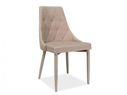 Židle, béžová, TRIX