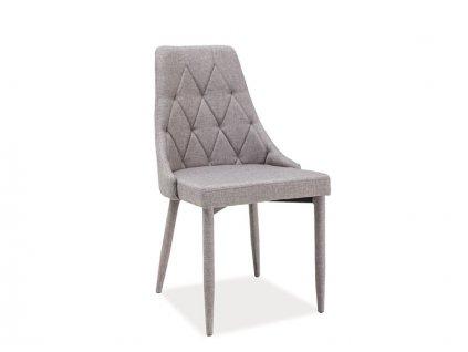 Židle, šedá, TRIX