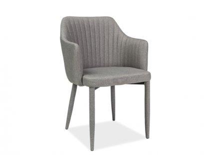 Židle, šedá, WELTON