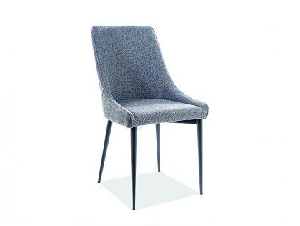Šedá židle ANIKA