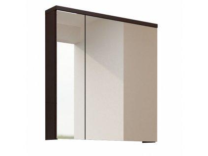 Wenge skříňka se zrcadlem MASON WE14