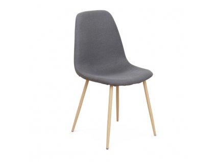 Židle, tmavě šedá / buk, LEGA