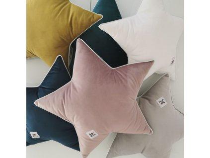 Velvet pillows stars 01