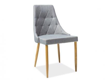 trixiisz krzeslo trix ii dab stelaz szary tap 06