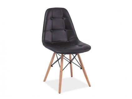 axelbuc krzeslo axel buk czarny ekoskora