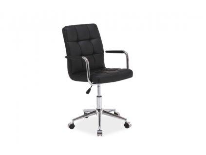 Kancelářská židle Q 022 černá
