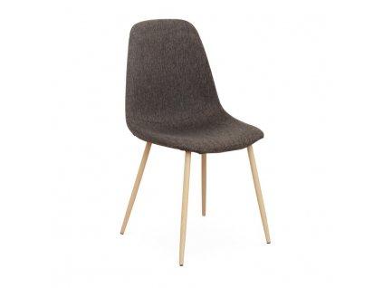 Židle, tmavohnědá / buk, LEGA
