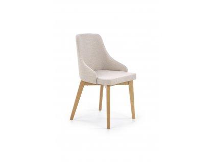 Béžová jídelní židle TOLEDO