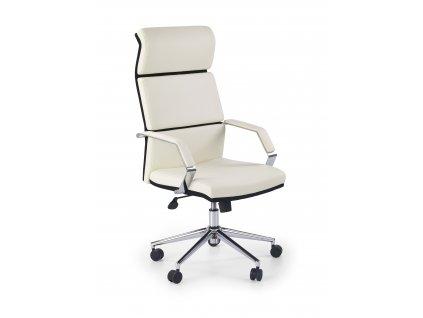 Černobílá kancelářská židle COSTA
