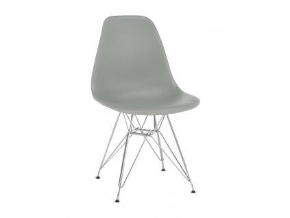 Šedá židle ANISA NEW