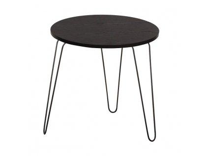 AKCE Černý příruční stolek RONIN II.jakost