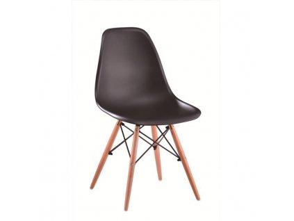 Černá židle CINKLA 3 NEW