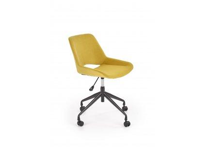 Hořčicová dětská židle SCORPIO