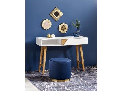 Bílý konzolový stolek KN1