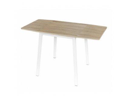 Jídelní stůl s deskou v dekoru dub MAURO, rozkládací