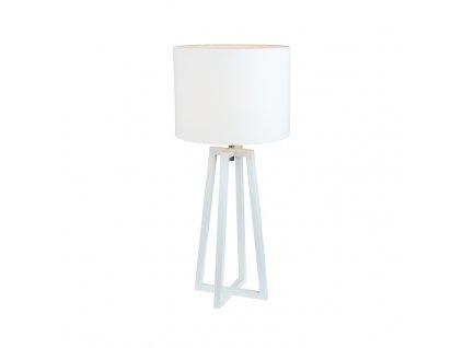 Bílá stolní lampa QENNY 14