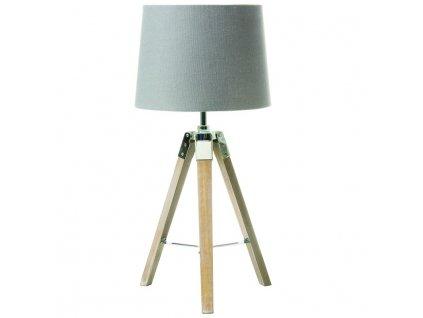 Šedá stolní lampa JADE TYP 2