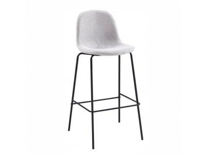 Světle šedá barová židle MARIOLA NEW