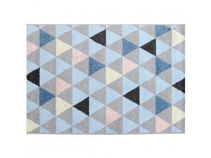 Vícebarevný koberec PETAL 133 x 190 cm