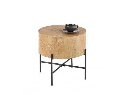 Dohányzóasztal BROOKLYN S tölgy színben 45x45 cm