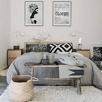 Inšpirácia spálňa