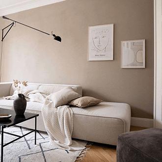 Inšpirácia obývacia izba