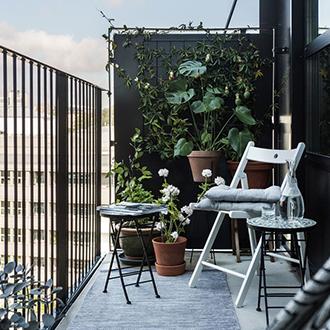 Inšpirácia záhrada v škandinávskom štýle