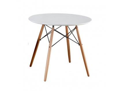 Biely jedálenský stôl GAMIN NEW 90