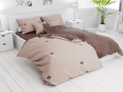 Bavlnené obliečky 7 dielne Kacey krémové