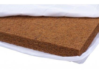 Kokosová matrace do postýlky (kokos) - Scarlett 120 x 60 x 6 cm