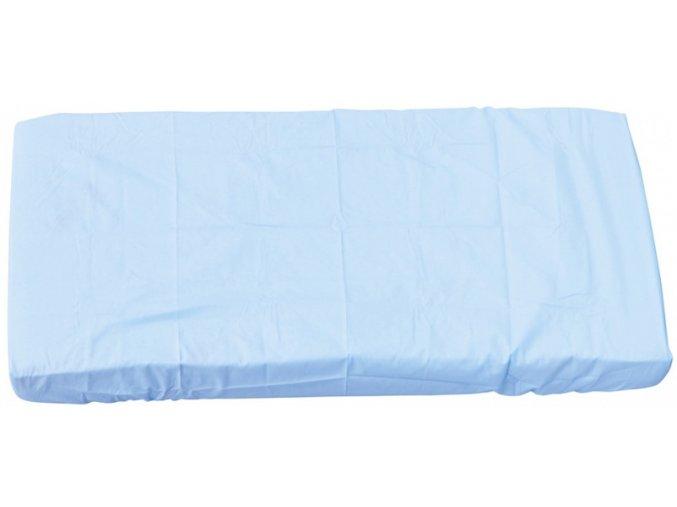 Prostěradlo do postýlky - Scarlett Blanka - modrá 120 x 60 cm