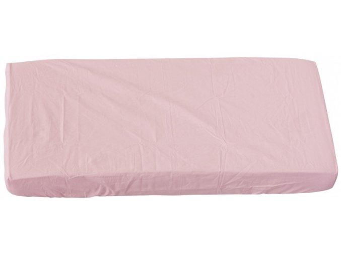 Prostěradlo do postýlky - Scarlett Blanka - růžová 120 x 60 cm