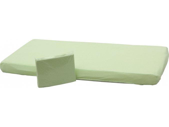 0951 Prosteradlo PVC zelene low