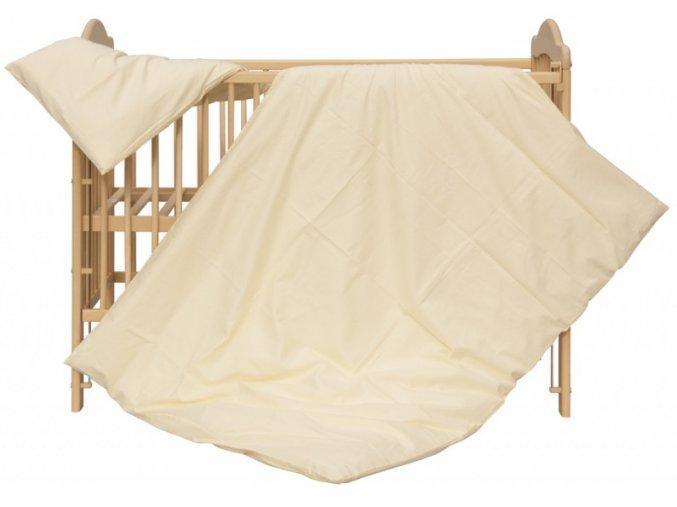 Dětské povlečení 2dílné - Scarlett Blanka - béžová 100 x 135 cm