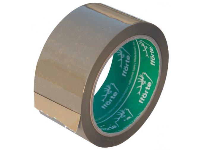 Lepicí páska SOLVENT hnědá 48 mm x 66 m