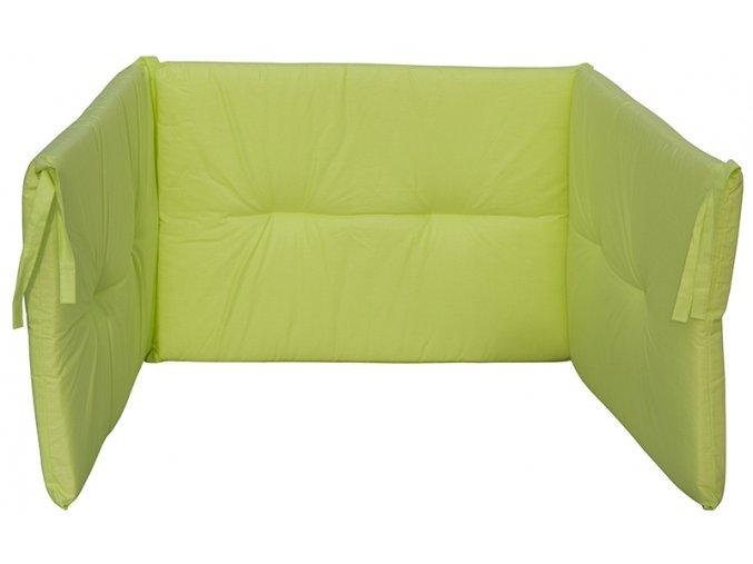 Mantinel do postýlky Scarlett Vega - 180 x 43 cm - zelená