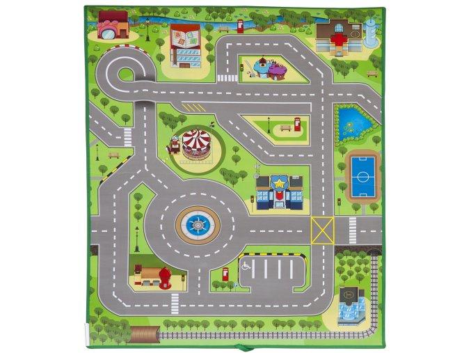 Scarlett dětský kobereček 3D MĚSTEČKO - 120 x 90 cm