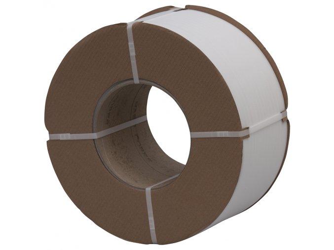 Vázací PP páska 12mm x 0,55mm, D200, 3000m bílá