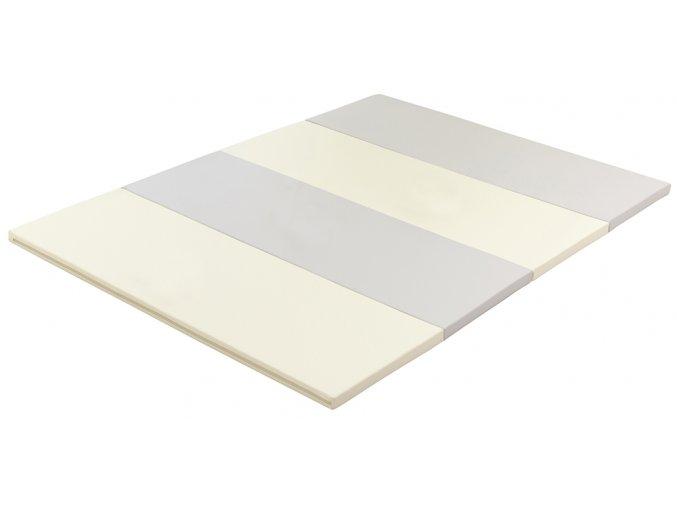 Skládací žíněnka Scarlett Dáša - šedá, 200 x 140 x 4 cm