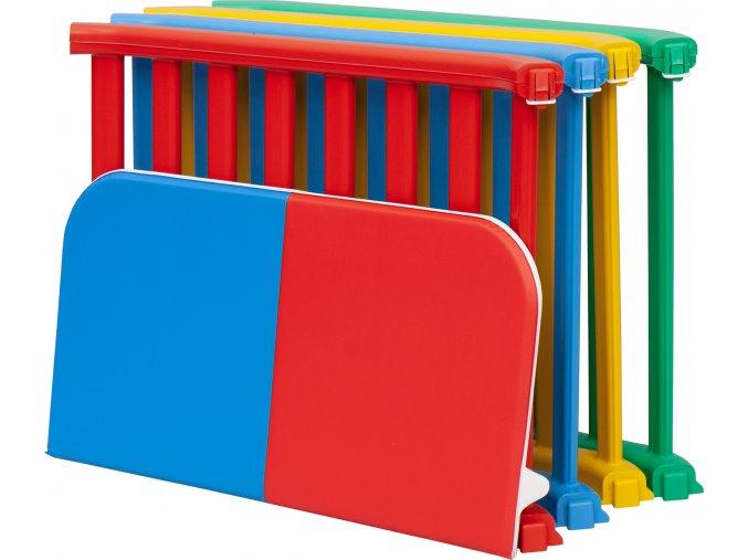 Plastová ohrádka pro děti Scarlett Recinto - barevná, 100 x 100 cm