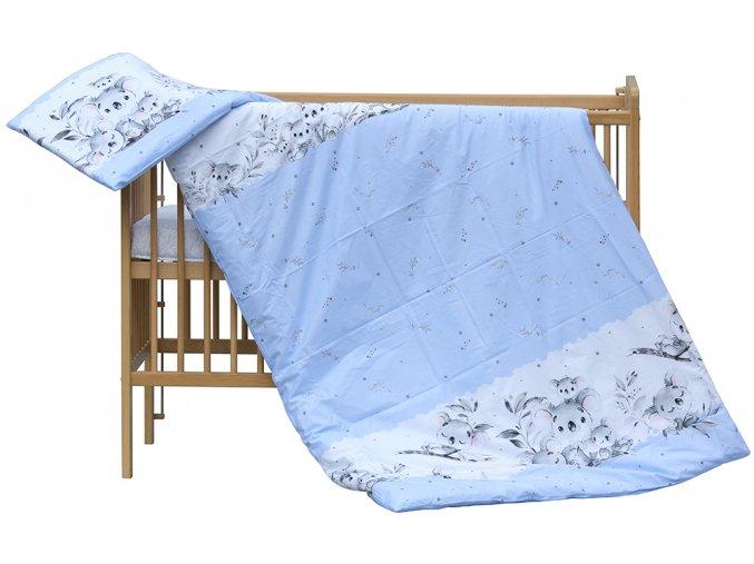 Dětské povlečení 2dílné Scarlett Koala - modrá 100 x 135 cm
