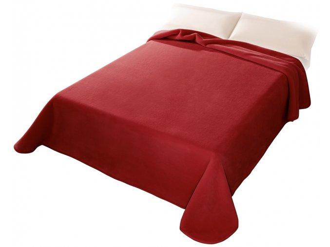 Španělská deka 001 - červená (34), 220x240 cm