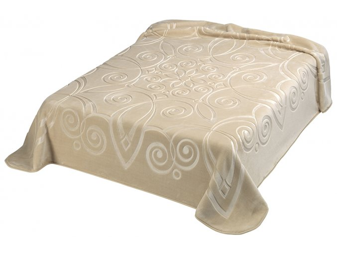 Španělská deka 516 - béžová (15), 160x220 cm