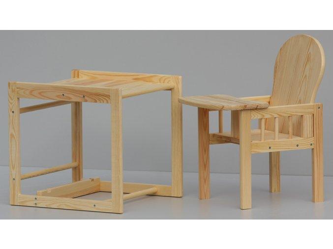 Dětská jídelní židlička - bazar