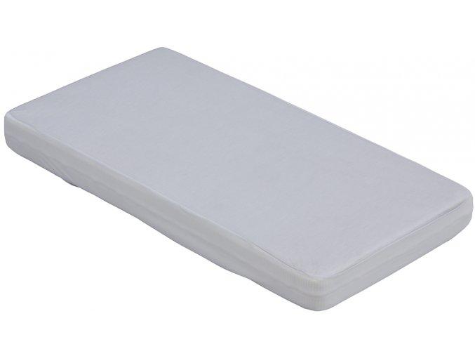 Nepropustné prostěradlo TENCEL - šedá 70 x 140 cm
