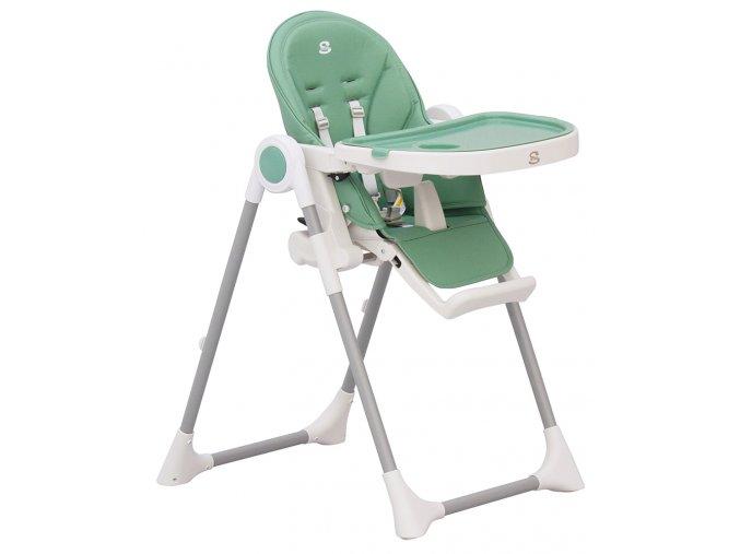 Jídelní židlička Scarlett Rosa - tyrkysová
