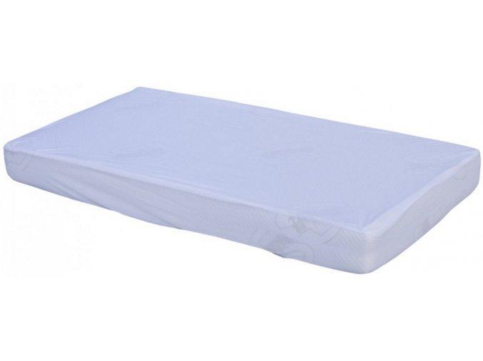Nepropustné prostěradlo TENCEL - bílá 60 x 120 cm