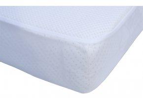 Matracový chránič 3D - bílý,  120 x 60 cm