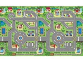 Scarlett dětský kobereček 3D MĚSTEČKO - 180 x 120 cm